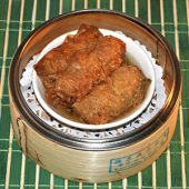 Bean Curd Rolls with Oyster Sauce