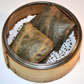 J 1. Lotus Wrapped Sticky Rice