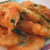 Spicy Shelled Shrimp